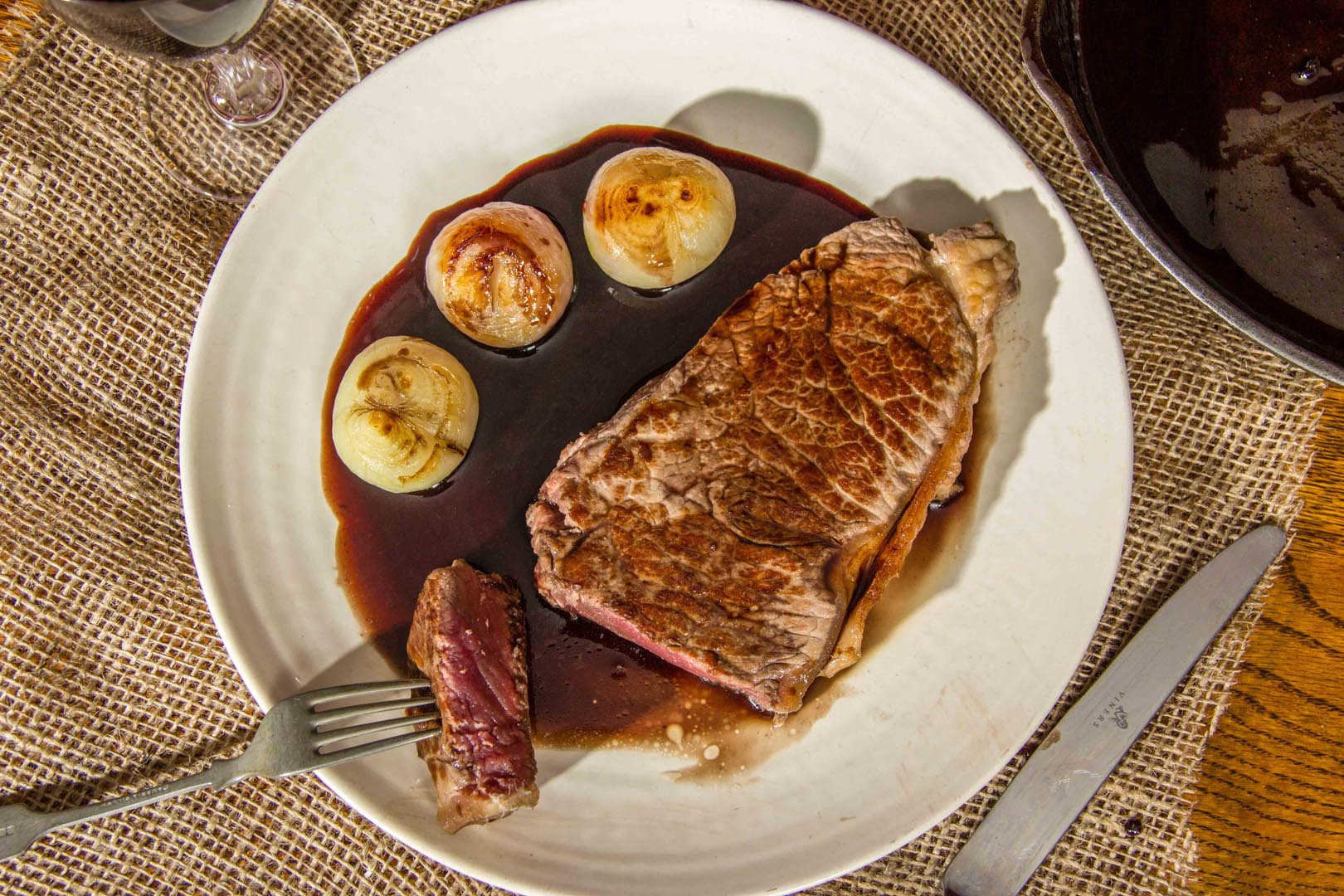Beef in Red Wine Reduction