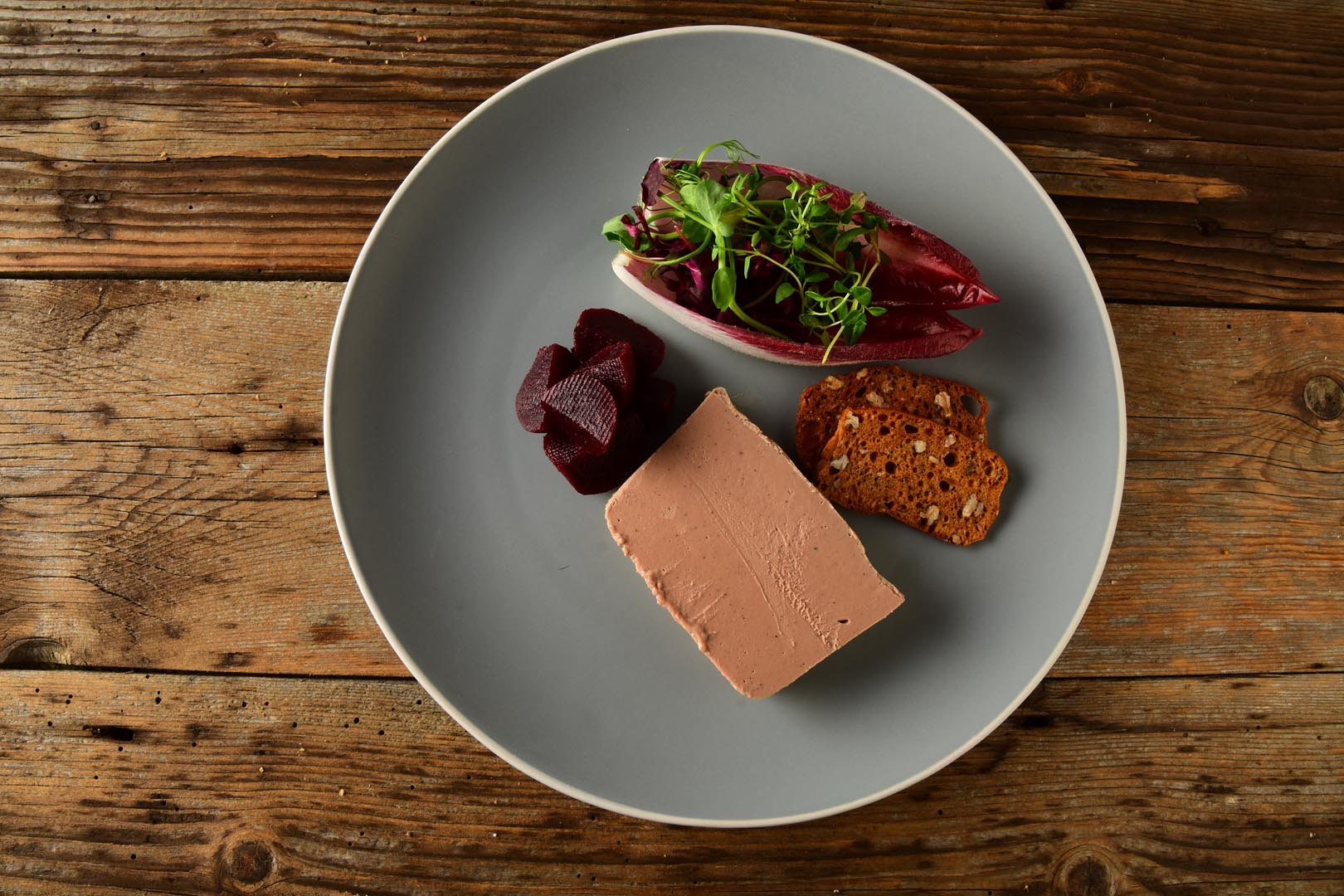 pate plated