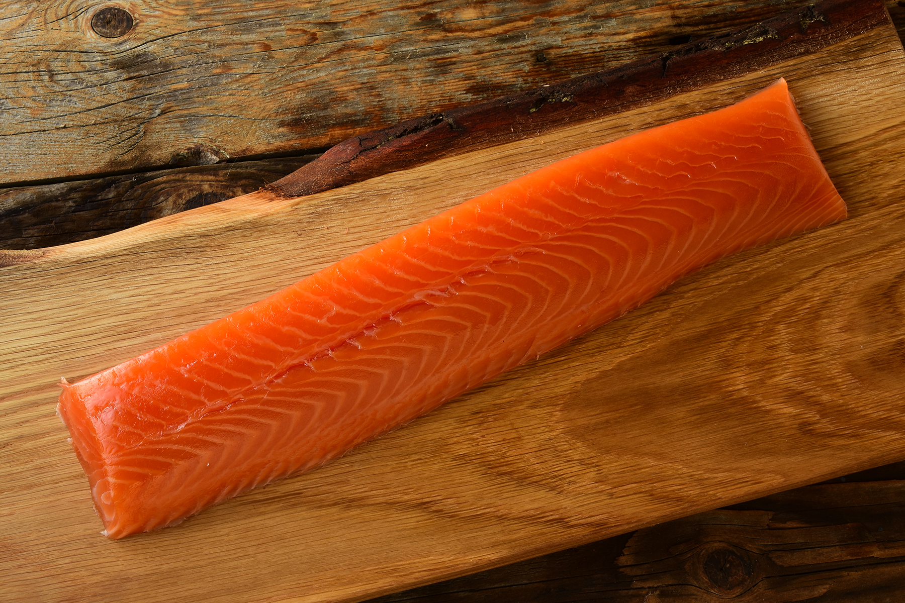 smoked salmon royal fillet tsar cut