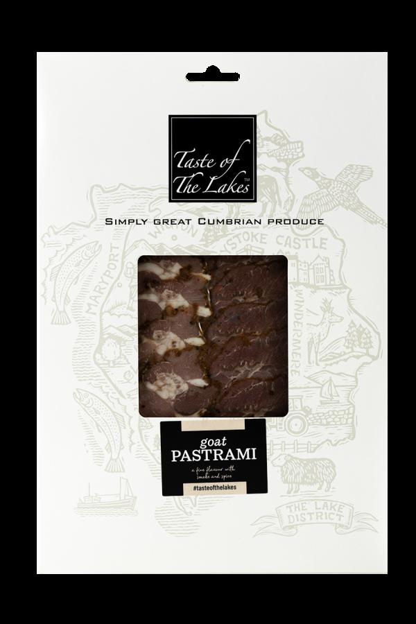 Goat leg pastrami Retail Pack