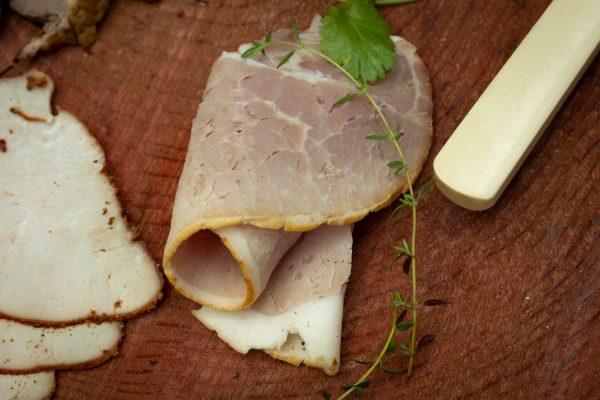 smoked ham slice