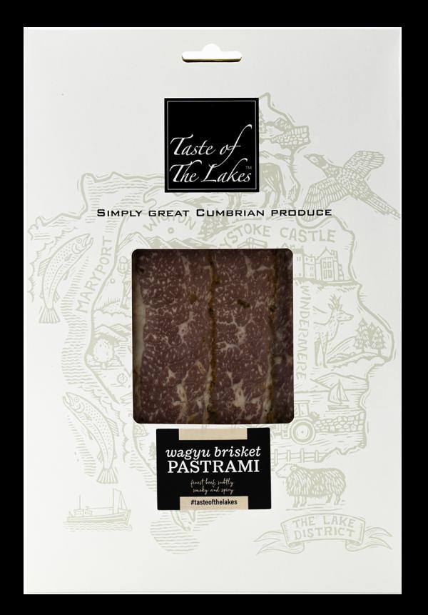 Wagyu beef brisket pastrami retail pack