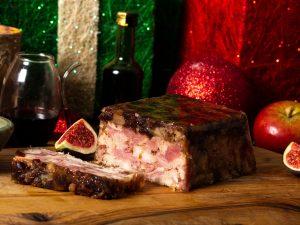Ham, Turkey, Chestnut & Cranberry Terrine