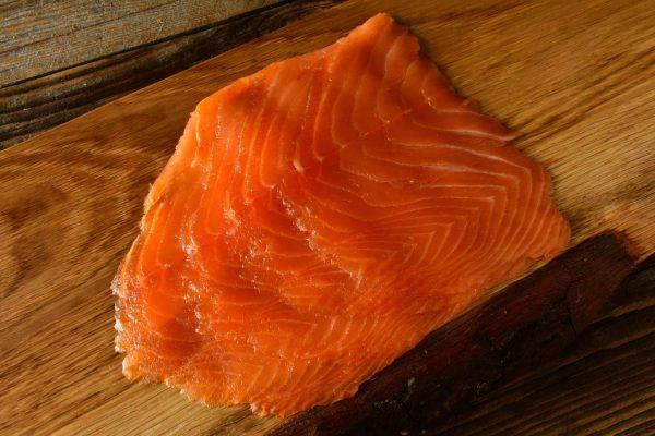 Smoked Salmon Slices