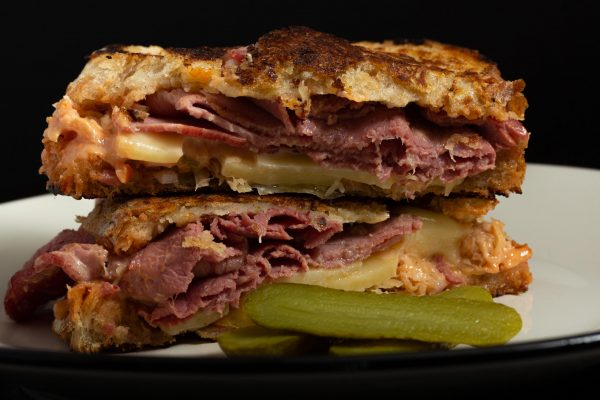 Salt Beef Reuben Sandwich